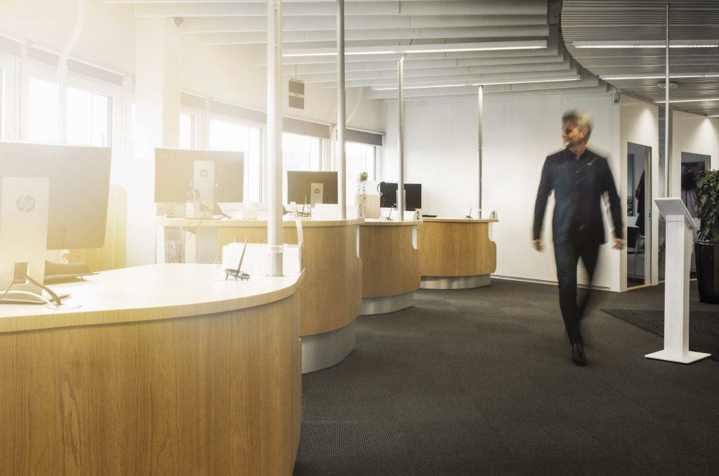 Bank environment