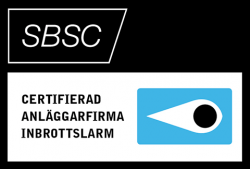 SBSC – Certifierad anläggningsfirma inbrottslarm